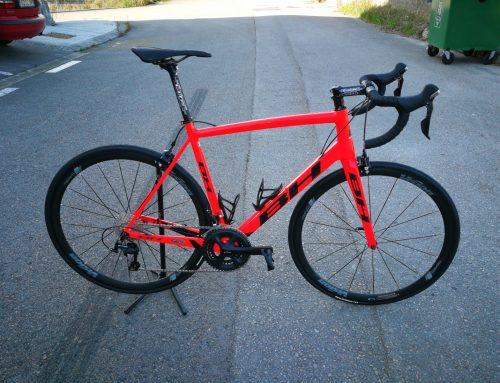 Nueva bicicleta BH ultraligth