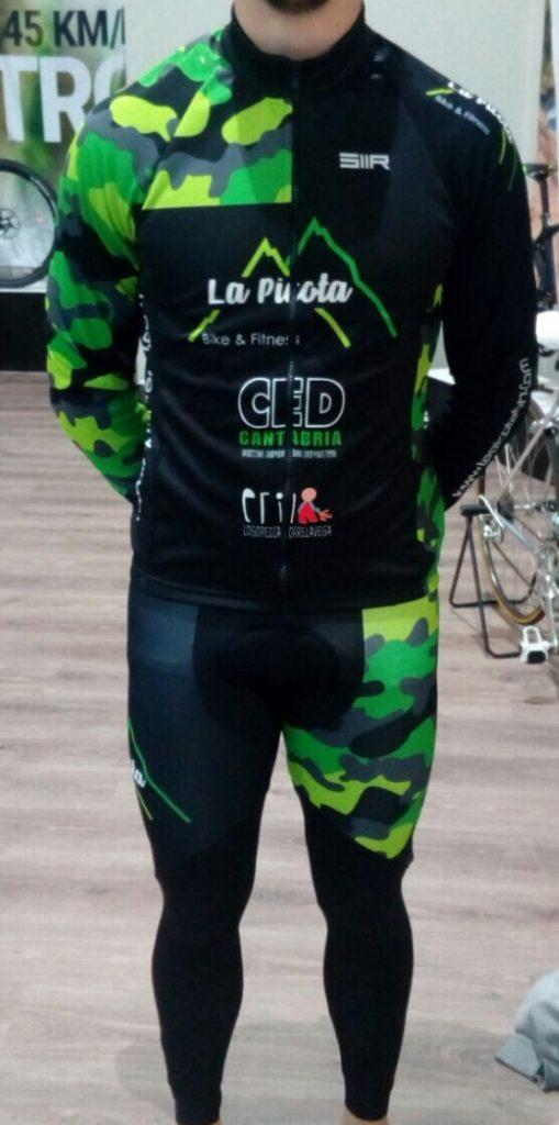 Presentación de la equipación de La Picota Bike & Fitness para este invierno